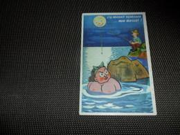 Humor ( 146 )    Humour   Baigneuse   Baadster   Seins Nus  Nue  Nu  Naakt Pêche à La Ligne  Lijnvissen - Humour