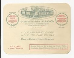 Commercial Card - Ourivesaria Aliança - Porto - Portugal - Portugal