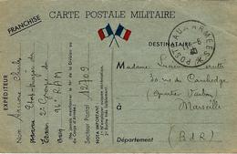 10 Juin 1940- C P F M  Du S P 12709 - Guerra De 1939-45