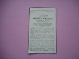 D.P.-WEDUWNAAR CHARLOTTA DOBBELAERE-MAURICE WACKENS °GENT 6-1-1885+ALDAAR 13-12-1957 - Religion & Esotericism