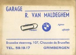 Grimbergen :  Garage R. Van Maldeghem    (  Zie Detail ) - Grimbergen