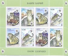 2019. Tajikistan, WWF, Snow Leopard, Sheetlet Perforated, Mint/** - Tadschikistan
