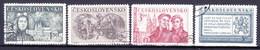 Tchécoslovaquie 1950 Mi 610-3 (Yv 528-31), Obliteré - Used Stamps