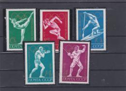 Soviet 1972 Olympic Games München 5 Stamps MNH/** (H54) - Ete 1972: Munich