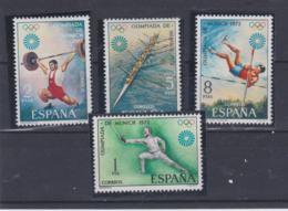 Spain 1972 Olympic Games Munich 4 Stamps MNH/** (H54) - Ete 1972: Munich