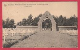 Aiseau - Le Roux - Cimetière Militaire Français De La Belle Motte - Entrée Principale -1924 ( Voir Verso ) - Aiseau-Presles