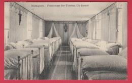 Momignies - Pensionnat Ste-Thérèse - Un Dortoir -1911 ( Voir Verso ) - Momignies
