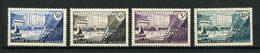 SPM MIQUELON 1955 N° 348/351 ** Neufs MNH Superbes C 8,40 € Le Frigorifique De Saint Pierre Bateaux Sailboat - Neufs