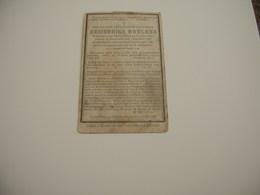 Desiderius Roelens (Handzame 1825-Eernegem 1891) - Devotieprenten