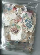 Vrac Timbre France Et Quelques Pays Europeen Et Etranger 940 Grammes - Stamps