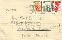 1935 Jena To Ankara (Turkei Turkey) - Briefe U. Dokumente