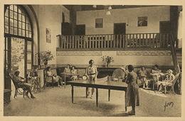 Tennis Table Ping Pong  à Boissy L' Aillerie 95 Vacances UCJF 22 Rue De Naples Paris Union Chretienne Jeunes Filles - Table Tennis