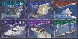 Neuseeland New Zealand 2002 Seefahrt Seafare Schiffe Ships Jachten Yachts Wellen Waves Segeln Sailing, Mi. 2027-2 ** - Neuseeland