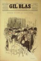 GIL BLAS-1895/32-GUSTAVE GEFFROY-HEROS CELLARIUS-LEOPOLD GANGLOFF-DIEUDONNE - Books, Magazines, Comics