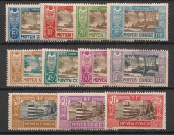 Congo - 1930 - Taxe TT N°Yv. 12 à 22 - Série Complète - Neuf Luxe ** / MNH / Postfrisch - Congo Français (1891-1960)