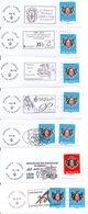 MONACO -- 10 Flammes - Machine Stamps (ATM)