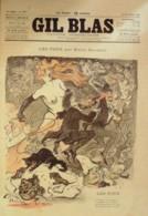 GIL BLAS-1895/50-EMILE GOUDEAU-ARMAND SYLVESTRE-JAPHET-ALBERT GUILLAUME- - Books, Magazines, Comics
