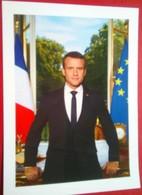 Emmanuel Macron  President Of France - Autógrafos