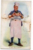 ALFRED WEBER * LE PLAT DE LA VICTOIRE * TETE DE COCHON * CASQUE A POINTE * CUISINIER * TOQUE COCARDE - Oorlog 1914-18