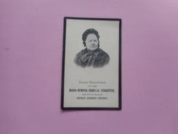 D.P.-MARIA-H.I.VERACHTER °ZALTBOEMEL(HOLLAND)9-4-1814+VRACENE 12-2-1906 - Religion & Esotérisme
