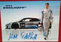 Max Edelhoff - Handtekening