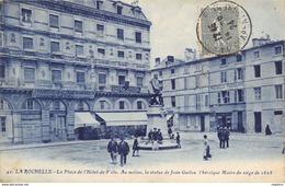 17-LA ROCHELLE-STATUE DE JEAN GUITON-N°R2041-C/0287 - La Rochelle
