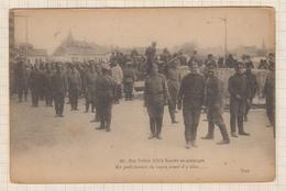 9AL1590 Nos Fidèles Alliés RUSSES En Campagne UN PETIT INSTANT DE REPOS AVANT D'Y ALLER 2 SCANS - Guerre 1914-18
