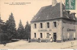23-CHATELUS MALVALEIX-HOTEL SAINT PIERRE-N°R2041-E/0219 - Chatelus Malvaleix