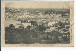 Saint-Gilles-Vue Générale Et Le Pont Reliant - Saint Gilles Croix De Vie