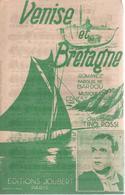 """Partition """"venise Et Bretagne"""" TINO ROSSI - Muziek & Instrumenten"""