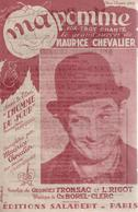 """Partition """"ma Pomme"""" MAURICE CHEVALIER - Song Books"""