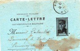 CL Correspondance Militaire  -  Joffre- - Guerra 1914-18