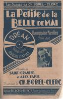 "Partition ""la Petite De La Belle De Mai"" BERTHE SYLVA - Muziek & Instrumenten"