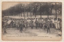 9AL1592 Nos Fidèles Alliés RUSSES En Campagne Le Cercle Se Ferme , C'est La Danse Russe Qui Commence.... 2 SCANS - Guerre 1914-18