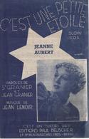 """Partition """"c'est Une Petite étoile"""" JEANNE AUBERT - Liederbücher"""