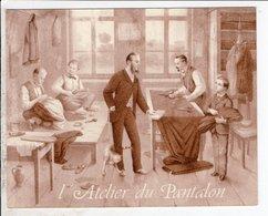 Cpa Illustrateur Lamora  Tarbes L Atelierdu Pantalon - Contemporain (à Partir De 1950)