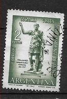 ARGENTINA -  1961 The Visit Of The President Of Italy Italian President G. Gronchi Visit - Trajano, Roman Emperor Ø - Argentina