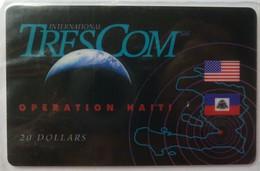 HAITI - Remote Memory - $20 - 1st Issue - TresCom - 04/94 - Mint Blister - Haiti