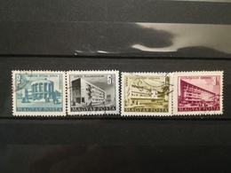 FRANCOBOLLI STAMPS UNGHERIA MAGYAR POSTA 1950 - 1953 USED  PLAN FIVE PIANO QUINQUENNALE HUNGARY - Usati