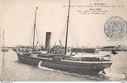 35-SAINT MALO-BATEAU LE HILDA-N°R2042-F/0181 - Saint Malo