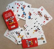 Jeu De 32 Cartes Mickey Mouse Minnie Dingo Disney Presse Hachette - Cartes à Jouer Classiques