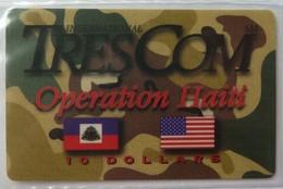 HAITI - Remote Memory - $10 - 1st Issue - TresCom - 04/94 - Dial 888 - Mint Blister - Haïti