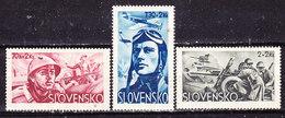 Slovacchia 1943 Serie Completa Nuova MLLH - Ongebruikt