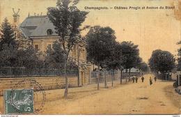 39-CHAMPAGNOLE-CHATEAU PROGIN-N°R2042-H/0035 - Champagnole