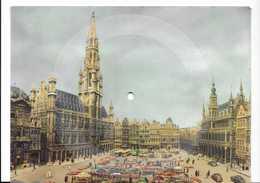 CPA Carte-disque SONIM -Bruxelles -Schubert -marche Militaire 45 R.P.M. 15x20cm - Markets