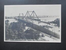 Österreich 1937 Echtfoto AK Wien Reichsbrücke SST Reichsbrücken - Eröffnungsfeier 10.10.1937 - 1918-1945 1st Republic