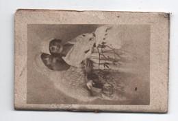 Petit Calendrier Mémento  De Poche/Couple De Jeunes élégantes/Bouchet Graveur Imprimeur Rue Béranger Paris/1922   CAL438 - Unclassified