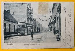 8734 - Liévin Tramway Traversant La Ville - Lievin