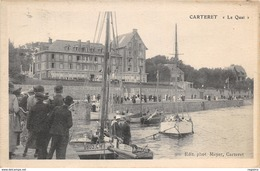 50-CARTERET-LE QUAI-N°R2043-G/0145 - Carteret