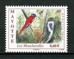 MAYOTTE 2011  N° 257 **  Neuf MNH Superbe  Faune Oiseaux Birds Fauna La Moucherolles - Mayotte (1892-2011)